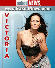 Naked News Anchor Victoria Sinclair Mobile Wallpaper